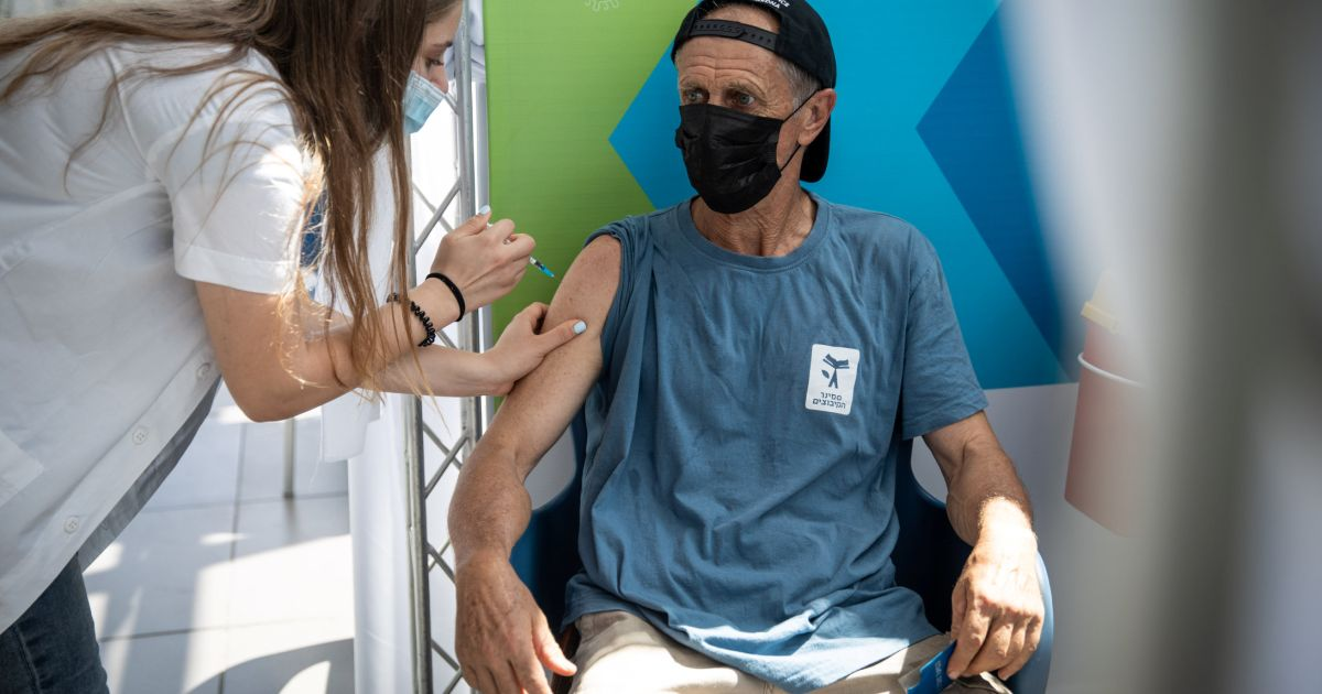 Israel to expand COVID booster shots to anyone over 40