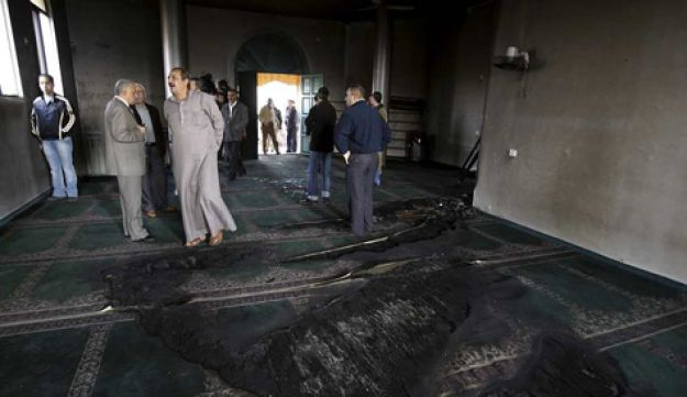 West Bank mosque arson