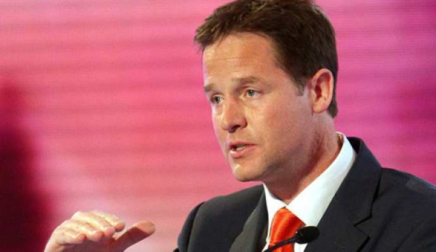 Liberal Demoracts leader Nick Clegg