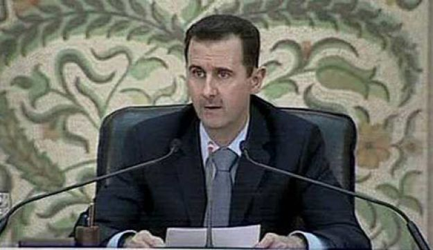 Syria's Assad - AP - April 16, 2011