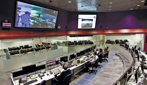 IAF satellite tracking center
