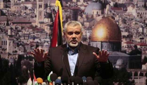 Hamas leader Haniyeh - Reuters - May 5, 2011