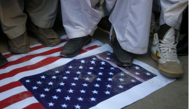 Anti-American demonstration - Reuters - 25.2.2012