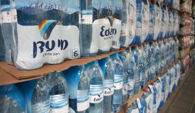 Eden mineral water on sale in Israel, May 15, 2010