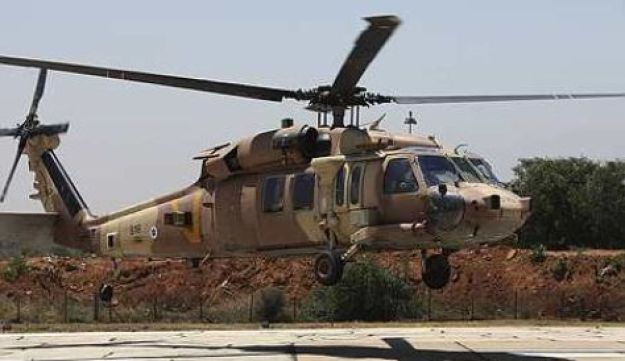 An IAF helicopter