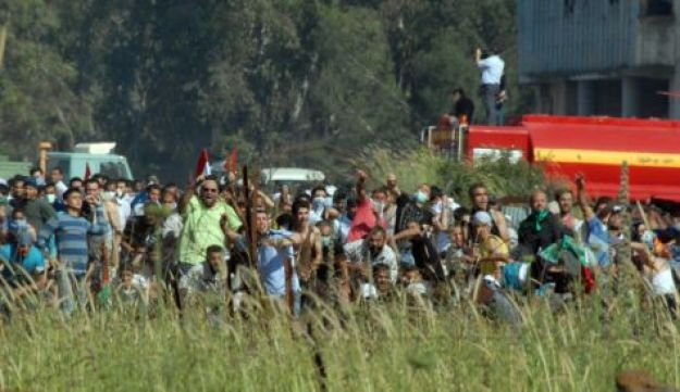 Syrian protesters - IDF - June 5, 2011