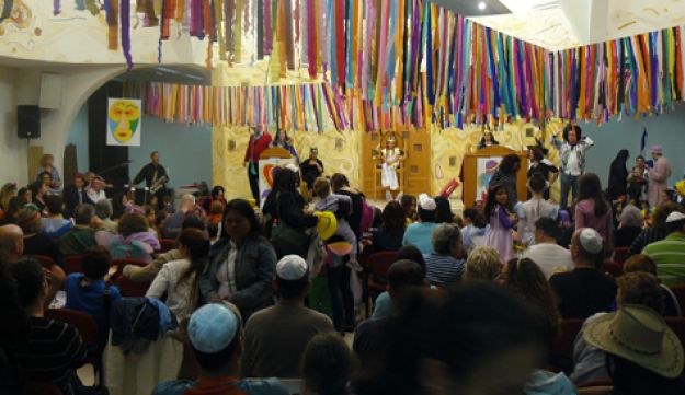 Purim at Beit Daniel Synagogue - Courtesy - 07032012