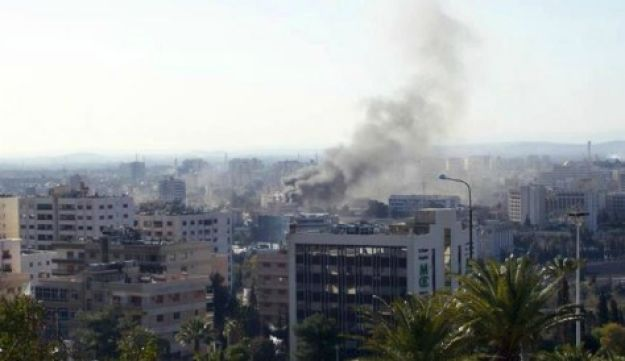 Damascus bombing - AFP - March 17, 2012