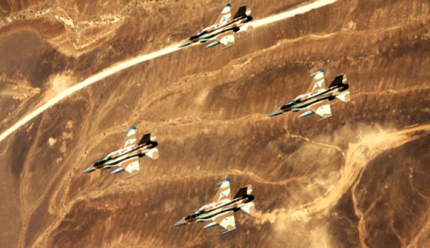Israeli F-16I fighters
