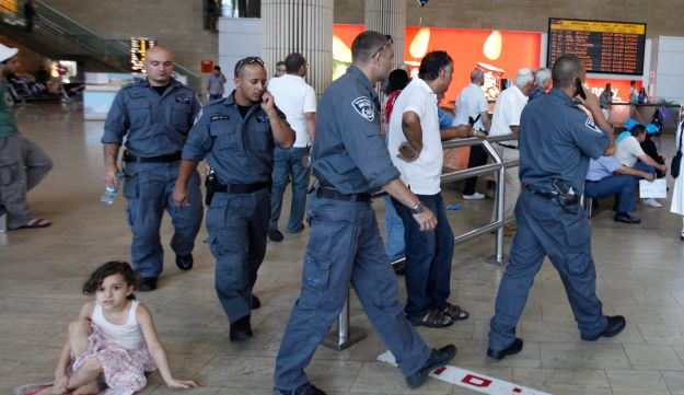 Increased security at Ben-Gurion Airport, July 6, 2011