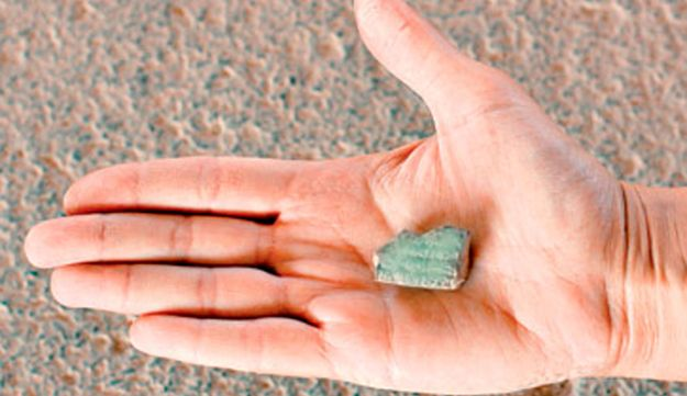 The clay tablet discovered at Tel Hazor