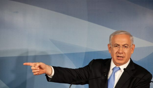 Netanyahu - Michal Fattal - April 3, 2012