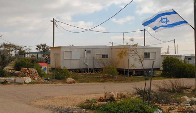 Megron outpost in West Bank - Fitoussi