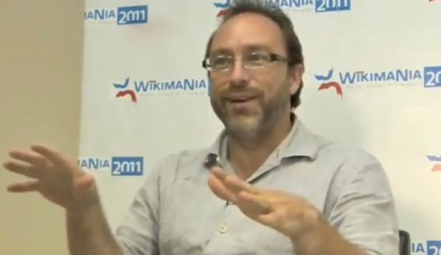 Wikipedia co-founder Jimmy Wales - David Sheen - August 4, 2011