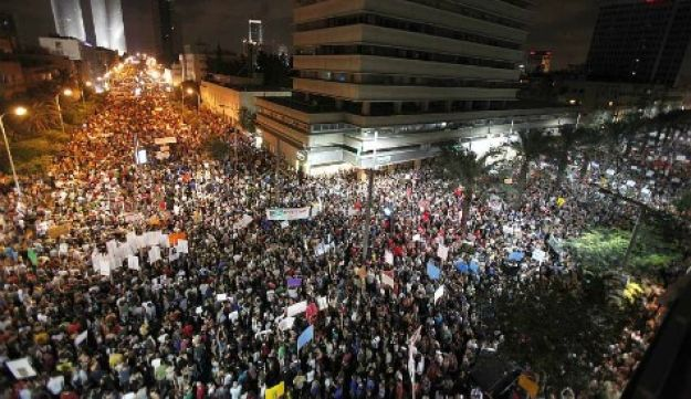 Tel Aviv protest August 6, 2011 (Tal Cohen)