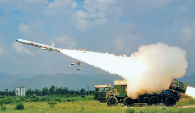 The P-800 Yakhont supersonic cruise missile.