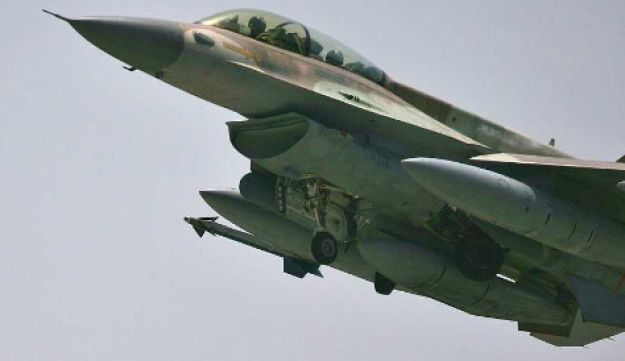 IAF F-16 AP File Photo