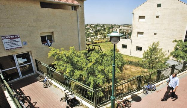 Beit El's Ulpana neighborhood.