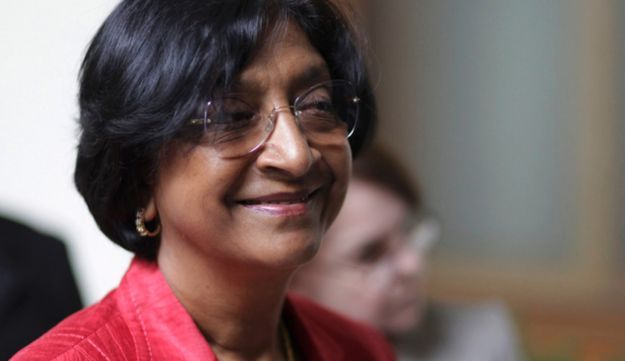 Navi Pillay, United Nations High Commissioner for Human Rights, March 15, 2012.