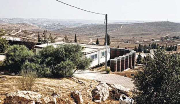 Fortified structure in Beit Haggai