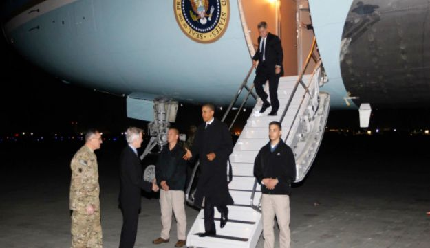 Obama Makes Surprise Visit To Afghanistan To Sign Security Agreement