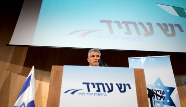 Yair Lapid May 2, 2012 (Alon Ron)