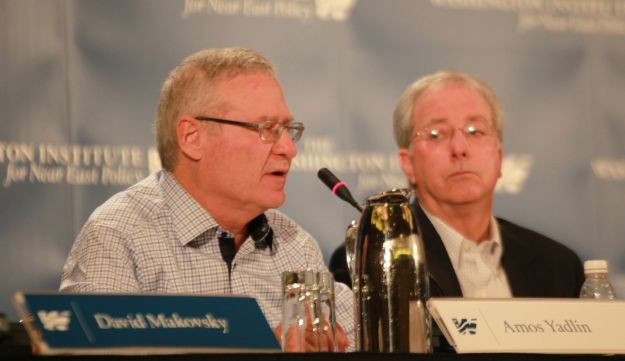 Amos Yadlin and Dennis Ross at Washington Institute conference