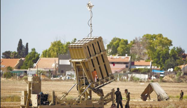 Iron Dome battery.