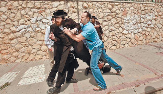 Ultra-Orthodox extremists - Gil Cohen-Magen - 08092011
