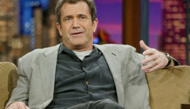Mel Gibson on the Tonight Show with Jay Leno in 2004 - AP