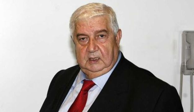 Syrian Foreign Minister Walid Mualem, AP