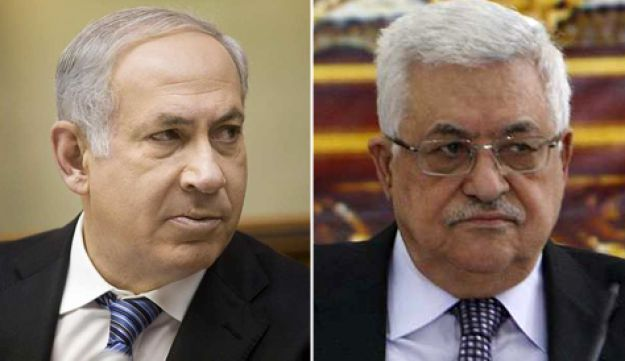 Netanyahu and Abbas - Appelbaum and Reuters - Oct 11, 2010