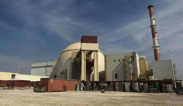 Bushehr nuclear power plant in Iran