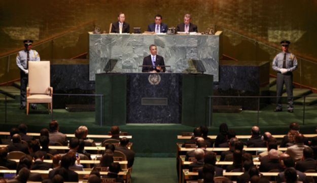 Obama at UN - Reuters - Sept. 21, 2011
