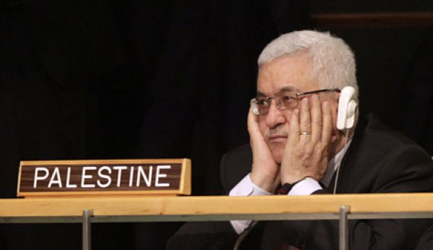 Abbas at UN - AP - Sept. 21, 2011