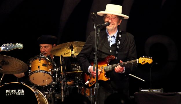 Bob Dylan played his first Israeli concert in almost twenty years on June 20, 2011.