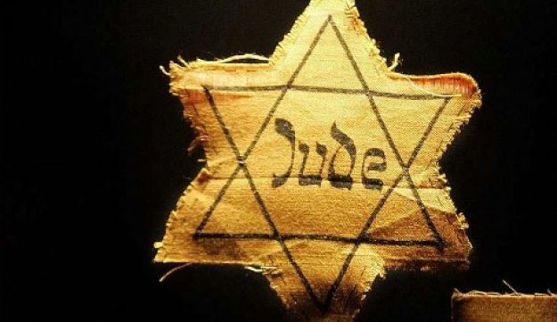 Cloth stars which Nazis forced Jews to wear AP