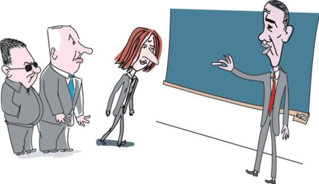 obama - Amos Biderman - December 14 2010