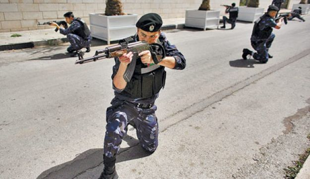 PA security forces training - Daniel Bar-ON