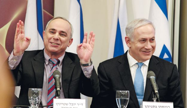 Steinitz and Netanyahu - Alon Ron