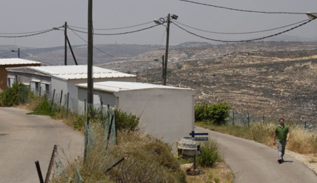 The West Bank outpost of Givat Asaf