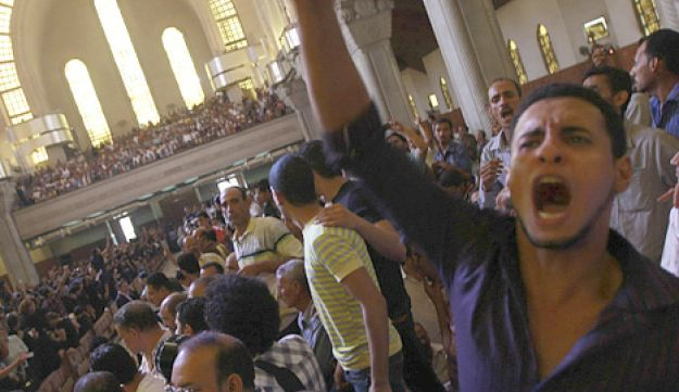Egypt Coptic protest mourning – 10.10.11 - Reuters