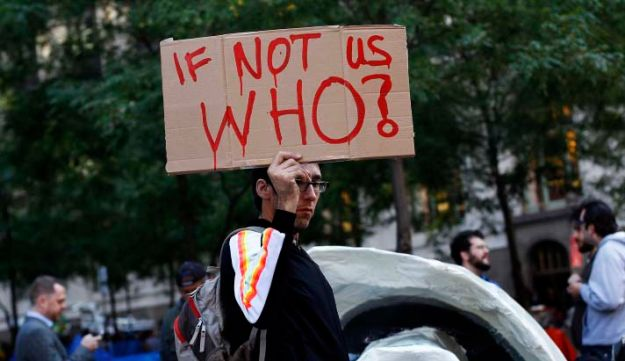 Occupy wall street - Reuters - October 17 2011