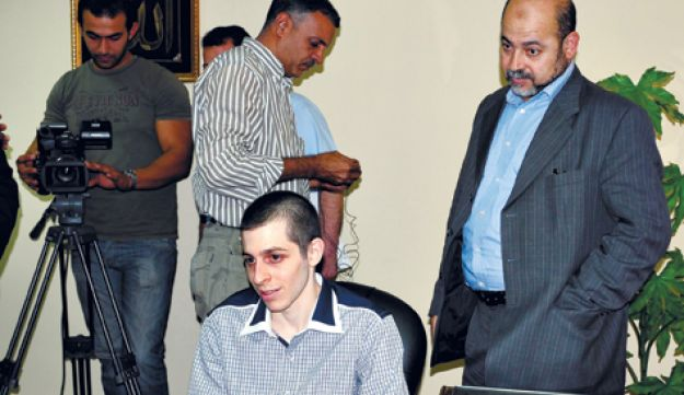 Gilad Shalit - AP - October 2011