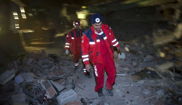 Turkey earthquake - Reuters - October 2011