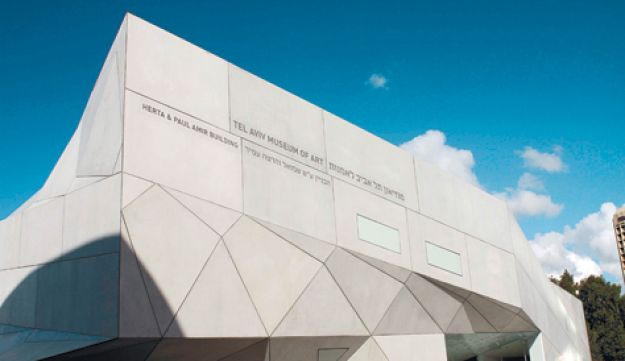 new wing of the Tel Aviv Museum of Art - Nir Keidar - 03112011