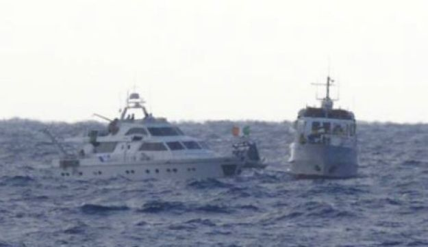 Gaza-bound vessels Nov. 4, 2011 (IDF Spokesperson's Unit)
