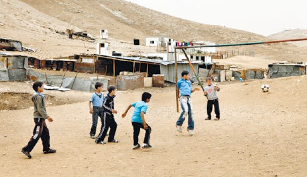Bedouin children - Alex Levac - 07112011