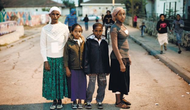 immigrants from Ethiopia - Michal Fattal - 10112011