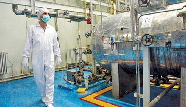 Iranian uranium conversion facility - AP - 10112011